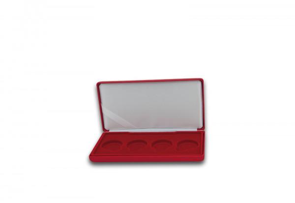 Hochwertiges Etui in rot für 4x 2 Euro