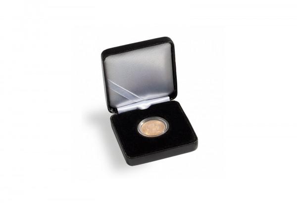 Münzetui NOBILE, 30 mm, schwarz