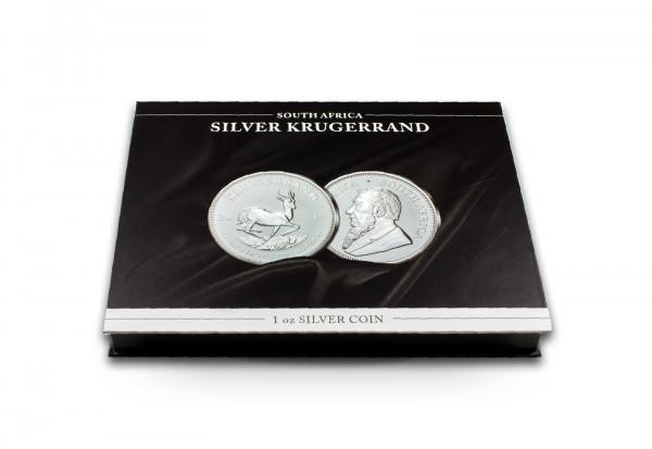 Münzkassette für 20x 1 oz Silber Krügerrand