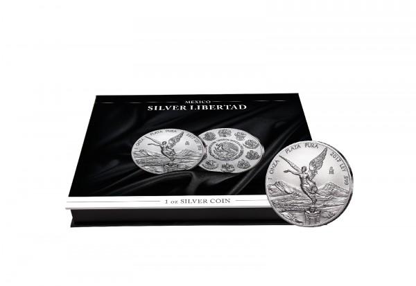 Münzkassette für 20x 1 oz Silber Libertad