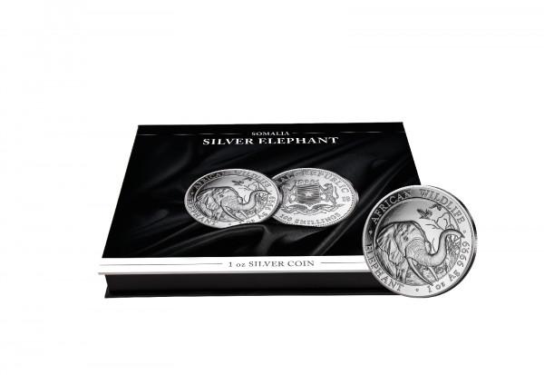 Münzkassette für 20x 1 oz Silber Elefant