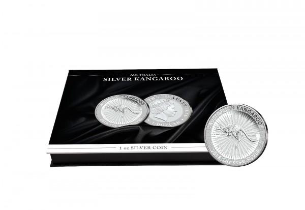Münzkassette für 20x 1 oz Silber Känguru