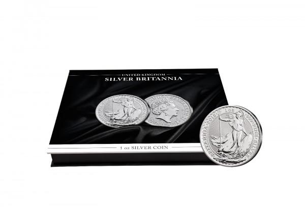 Münzkassette für 20x 1 oz Silber Britannia