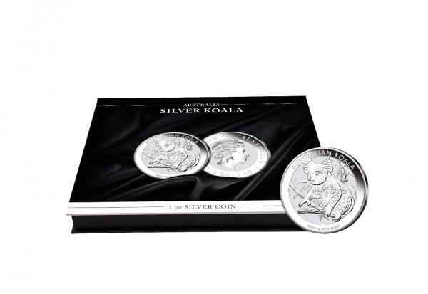 Münzkassette für 20x 1 oz Silber Koala