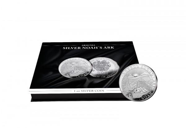 Münzkassette für 20x 1 oz Silber Arche Noah