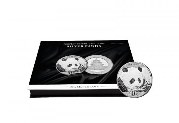 Münzkassette für 20x 30g Silber Panda