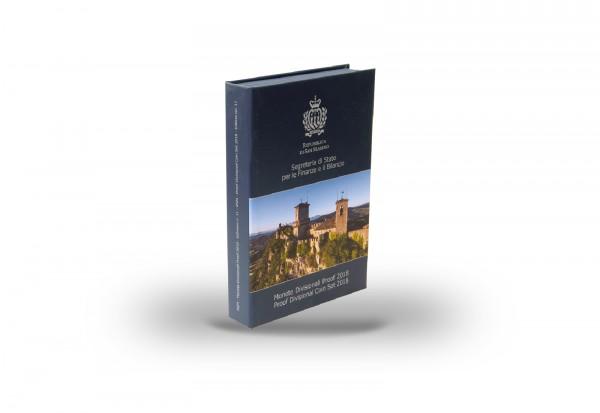 Original Etui blau für Kursmünzsatz San Marino Jahrgang unserer Wahl