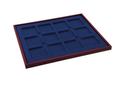Stabile Münzbox mit Holzumrahmung