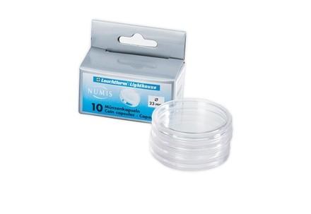 10 Münzkapseln Durchmesser Innen 18 mm