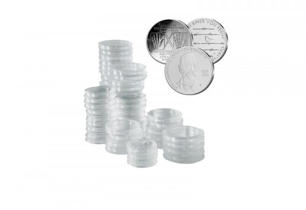 200 Kapseln für 20 Euro, 10 Euro oder 10 DM Gedenkmünzen