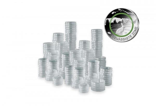 1.000 Kapseln für BRD 5 Euro Münze mit Polymerring