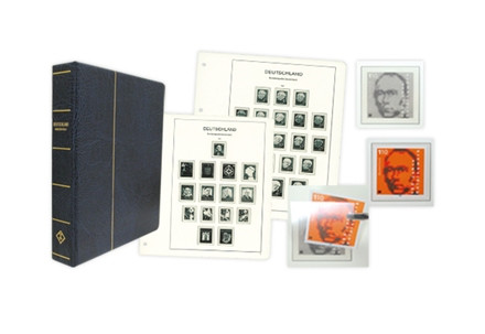 BRD Vordruckalbum 1946-2009 für Zusammendrucke