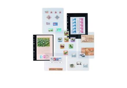 Optima Hüllen für Münzen und Briefmarken 5 Zeilen je Höhe 42mm