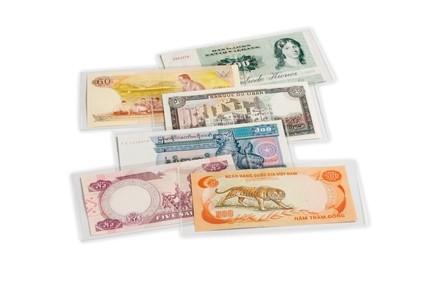 Leuchtturm 50er Packung Banknoten Schutzhüllen
