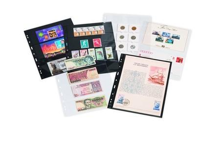 Leuchtturm Grande Hüllen für Briefmarken 5er Packung