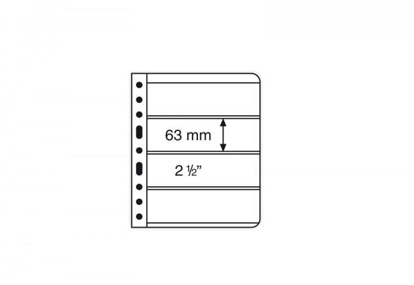 VARIO-Hüllen für Ringbinder 4er Einteilung (schwarz)