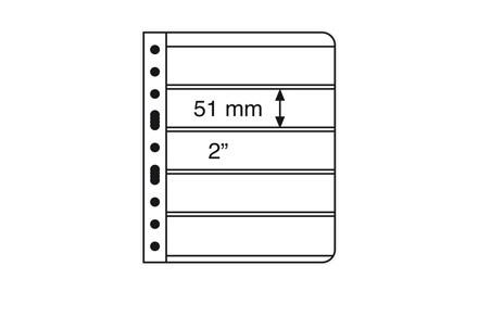 VARIO-Hüllen für Ringbinder 5er Einteilung (schwarz)