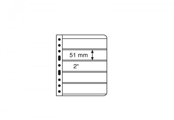 VARIO-Hüllen für Ringbinder 5er Einteilung (transparent)