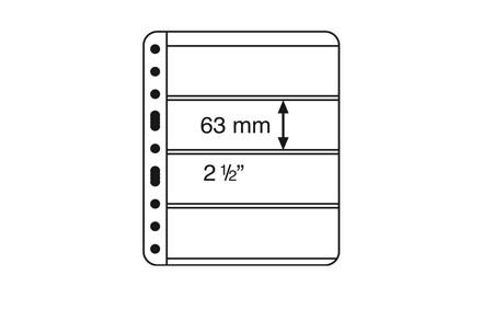 VARIO-PLUS-Hüllen für Ringbinder 4er Einteilung (schwarz)