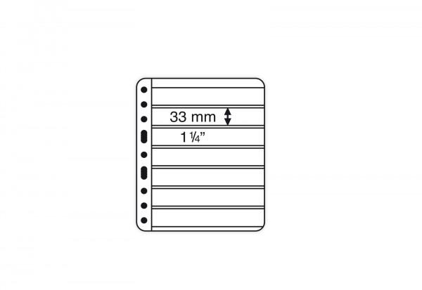 VARIO-PLUS-Hüllen für Ringbinder 7er Einteilung (schwarz)