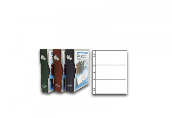 Leuchtturm Numis Hüllen für 3 Banknoten 10er Pack