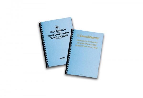 Leuchtturm Trockenbuch Standard mit 10 Blatt Kartonumschlag