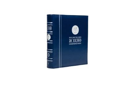 Leuchtturm Vordruckalbum für BRD 20 Euro Münzen