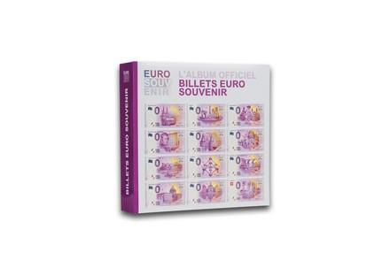 Leuchtturm Album für 200x 0,- Euro Banknoten