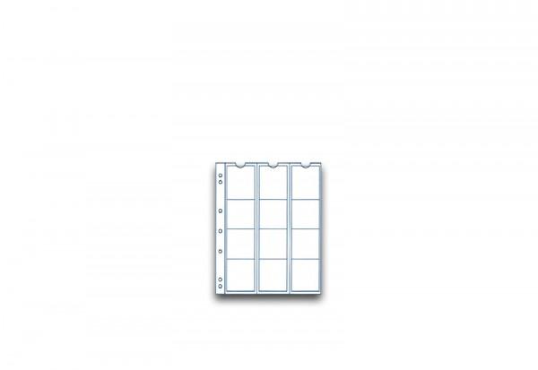 SAM Münzhüllen für 12 Münzen im 5er Pack bis Durchmesser 44 mm