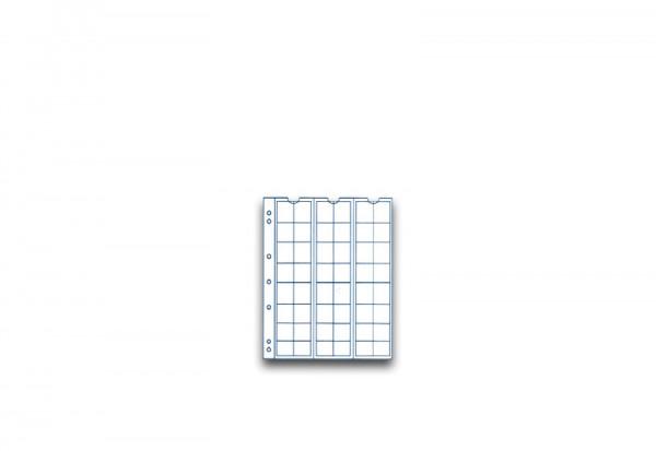SAM Münzhüllen für 48 Münzen im 5er Pack bis Durchmesser 17 mm