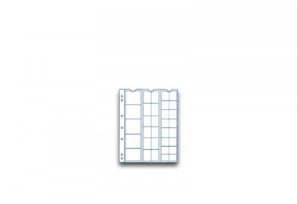 SAM Münzhüllen für 33 Münzen im 5er Pack für diverse Durchmesser