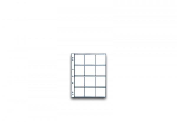 SAM Münzhüllen im 5er Pack für Münzrähmchen 50 x 50 mm