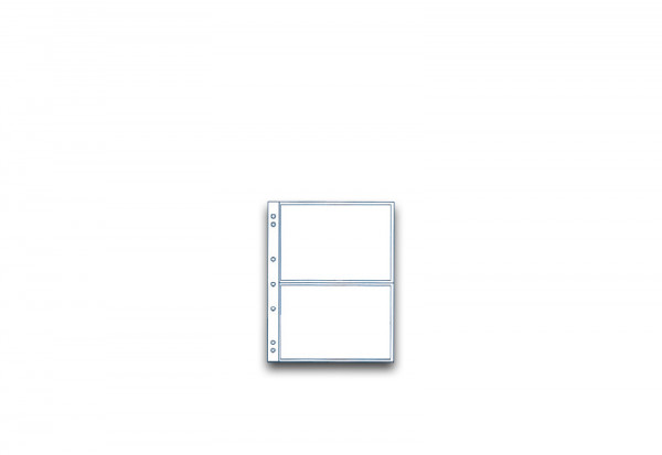 SAM Münzhüllen für 2 Banknoten und Postkarten im 10er Pack bis 165 x 107 mm