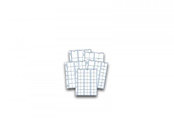 SAM Münzhüllen Sortiment 5er Pack für 12, 20, 30, 48 und diverse Münzen
