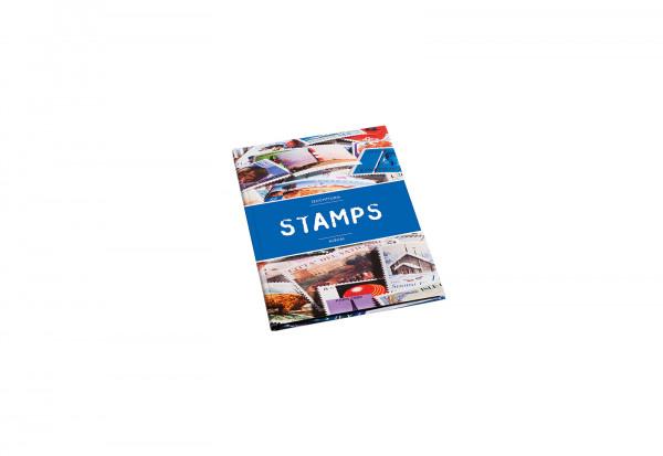 Einsteckalbum für Briefmarken STAMPS