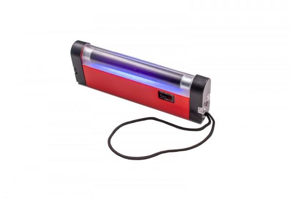 UV-Handlampe für die Fluoreszenz-Prüfung