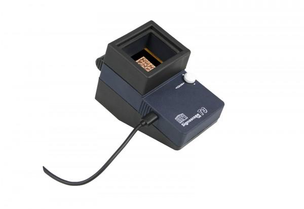 SAFE Signoscope T3 Wasserzeichenfínder und Prüfgerät inkl. Netztrafo
