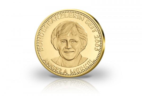 Goldausgabe 1/10 oz Angela Merkel PP im Etui