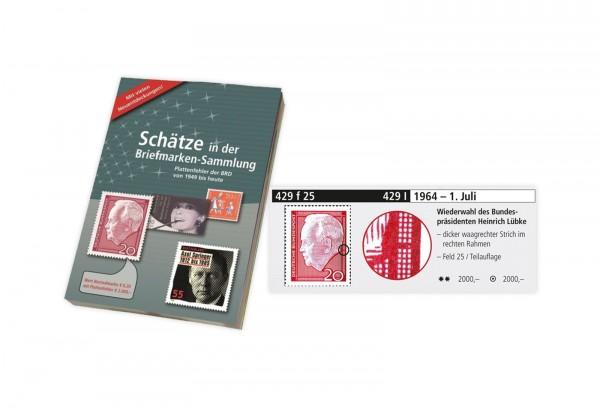 Plattenfehler Briefmarken Raritäten Katalog BRD Neuauflage 2015