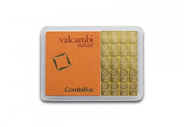 Goldbarren 20 g Combibar mit 20x 1 g