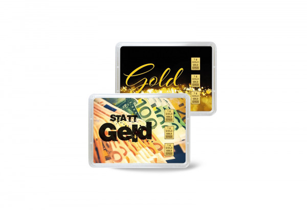 Goldbarren 3 g Gold statt Geld