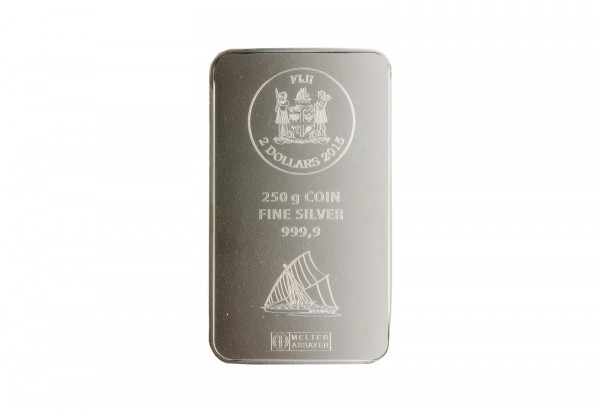 Silber Münzbarren 250 g Fiji