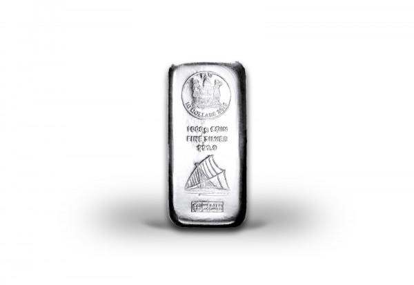 Silber Münzbarren 1 kg Fiji
