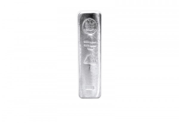 Silber Münzbarren 5 kg Fiji