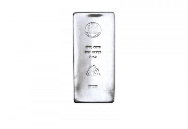 Silber Münzbarren 15 kg Fiji