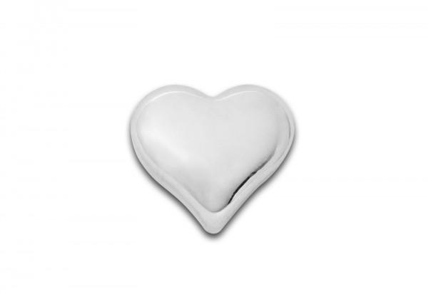 Silberbarren 1 oz Motiv Herz im Etui
