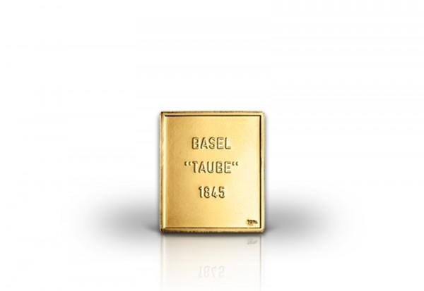 Weltbekannteste Briefmarke 2,5 Rappen Basler Taube 1845