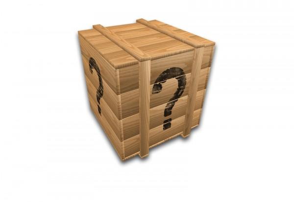 Lagerfund-Kiste