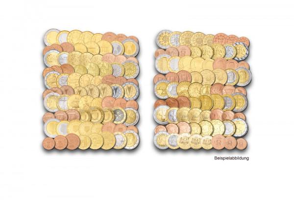 Das Euro-Sparpaket - 19 Länder - 152 Euromünzen