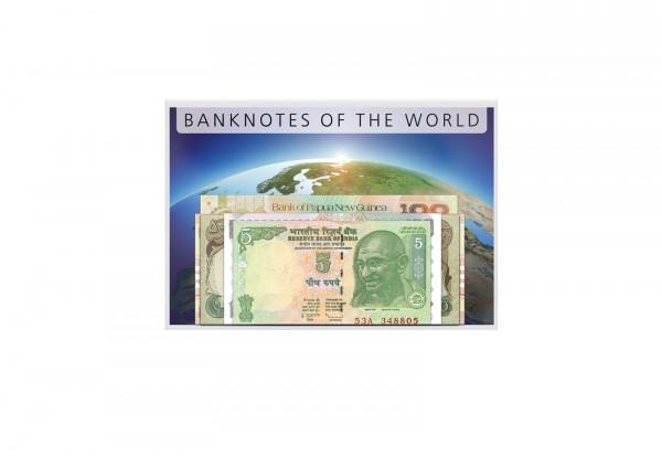 50 verschiedene Banknoten 37 Länder und 5 Kontinente